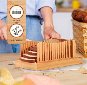 כלי לחיתוך לחם לפרוסות שוות