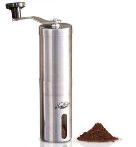 מכשיר לטחינה ידנית של קפה