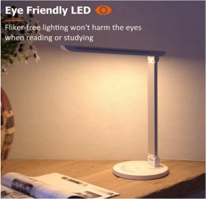 מנורת LED לשולחן